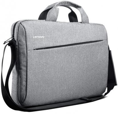 Сумка для ноутбука 15.6 Lenovo T200 полиэстер серый GX40L68663