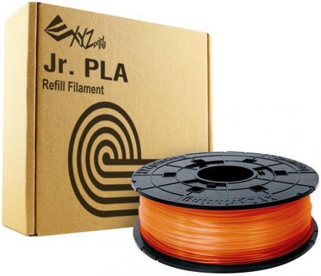 Картридж XYZ PLA для Junior оранжевый 1.75 мм/600гр RFPLCXEU07B RFPLC-FGB-P6Q-TH-5A6-0380 пластик для принтера 3d xyz pla для junior синий 1 75 мм 600гр rfplcxeu0db rfplc fpm pgb th 679 0217