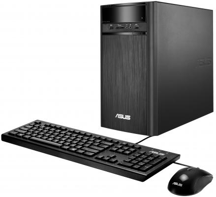 Системный блок ASUS K31CD i3-6100 3.7GHz 4Gb 1Tb Intel HD DVD-RW Win10 клавиатура мышь 90PD01R2-M08420