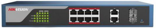 Коммутатор Hikvision DS-3E1310P-E 10-ports 10/100Mbps цена 2017