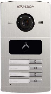 Вызывная панель Hikvision DS-KV8402-IM серебристый вызывная панель commax drc 4u blue