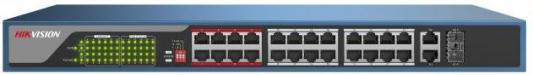 Коммутатор Hikvision DS-3E0326P-E 24-ports 10/100Mbps цена 2017