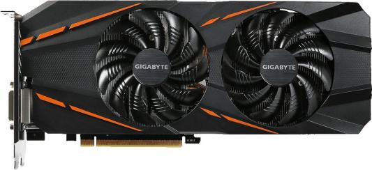 Видеокарта 6144Mb Gigabyte GeForce GTX1060 PCI-E 192bit GDDR5 DVI HDMI DP HDCP GV-N1060D5-6GD Retail видеокарта gigabyte geforce gtx 1050ti 4096mb gv n105toc 4gd dvi d hdmi dp ret