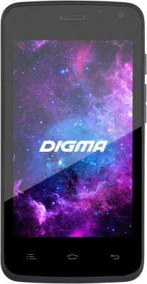 "Смартфон Digma Linx A400 3G графит 4"" 4 Гб Wi-Fi GPS 3G LT4001PG"