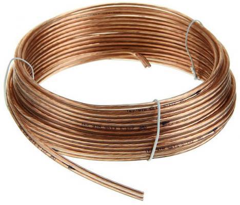 Акустический кабель Cablexpert CC-TC2x1,0-10M прозрачный 10м акустический кабель cablexpert cc tc2x1 0 10m прозрачный 10 м бухта