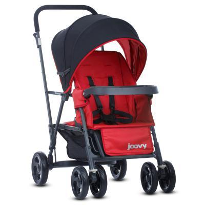 Прогулочная коляска для погодков Joovy Caboose (красный)