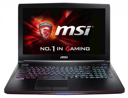 Ноутбук MSI GE62 7RE-033RU Apache Pro 15.6 1920x1080 Intel Core i7-7700HQ 9S7-16J932-033 ноутбук msi ge62 7re 033 9s7 16j932 033 9s7 16j932 033