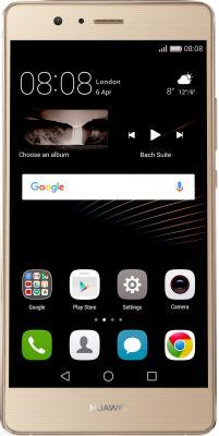 Смартфон Huawei P9 Lite золотистый 5.2 16 Гб LTE NFC Wi-Fi GPS 3G 51090WAH смартфон asus zenfone live zb501kl золотистый 5 32 гб lte wi fi gps 3g 90ak0072 m00140