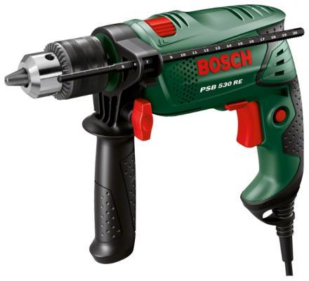 Дрель ударная Bosch PSB 530 RE