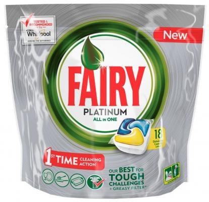 Средство для мытья посуды для посудомоечных машин Fairy Platinum 18шт FR-81574620