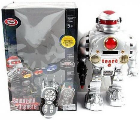 Боевой робот Shantou Gepai Защитник планеты 32 см танцующий двигающийся на радиоуправлении со звуком светящийся