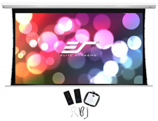 Экран на раме Elite Screens SKT100XHW-E12 16:9 124.5x221.5см настенно-потолочный натяжной белый