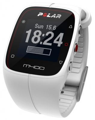 Смарт-часы Polar M400 HR белый 90053838