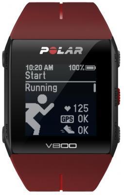 Смарт-часы Polar V800 HR черно-красный 90060774