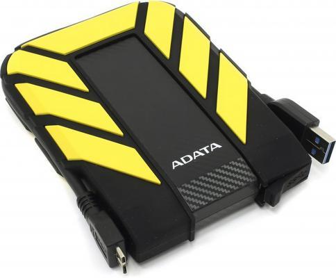 "Внешний жесткий диск 2.5"" USB3.0 2Tb A-Data AHD710-2TU3-CYL желтый"