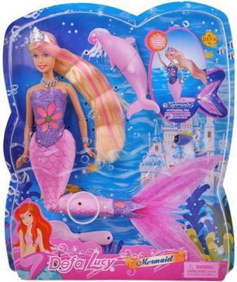 Кукла Defa Luсy «Русалка» со свет. эф-ми, 29 см 8243 цена