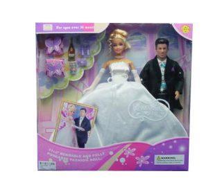 Игровой набор DEFA LUCY Жених и невеста в ассортименте 29 см defa toys кукла lucy happy wedding цвет платья розовый