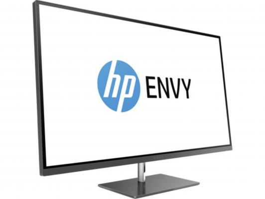 Монитор 27 HP ENVY 27s черный IPS 3840x2160 350 cd/m^2 5 ms HDMI DisplayPort Y6K73AA монитор 27 aoc i2769vm серебристый черный ips 1920x1080 250 cd m^2 5 ms vga hdmi displayport аудио