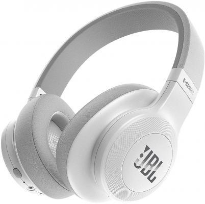 Гарнитура JBL E55BT белый JBLE55BTWHT гарнитура jbl e55bt белый jble55btwht