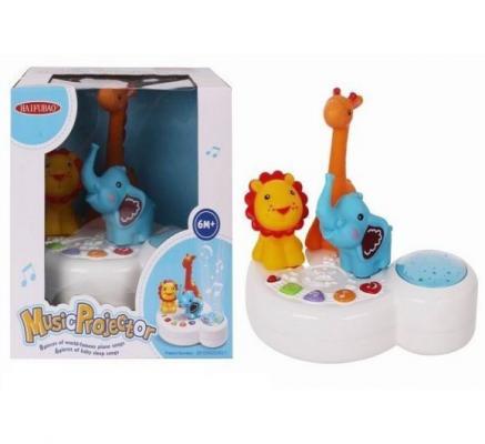 Проектор музыкальный Shantou Gepai Зоопарк свет, звук 510 развивающая игрушки shantou gepai веселый зоопарк yq2979