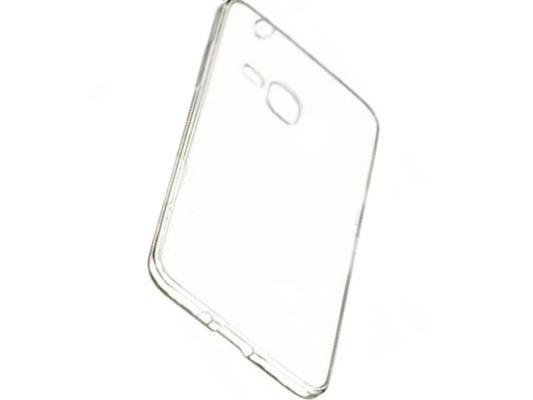 Чехол силикон iBox Crystal для Samsung Galaxy G850 Alpha (прозрачный) поврежденная упаковка чехол для samsung galaxy a7 2016 sm a710f ibox crystal силикон прозрачный