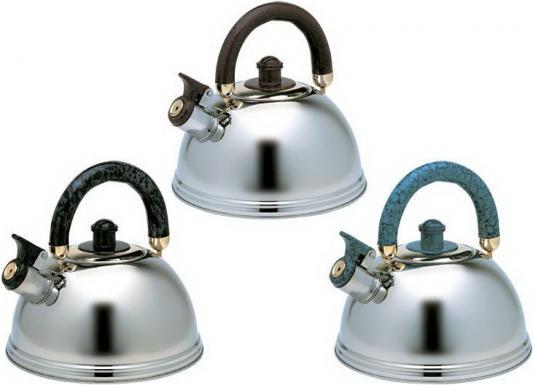 Чайник Wellberg WB-497 серебристый 3 л нержавеющая сталь