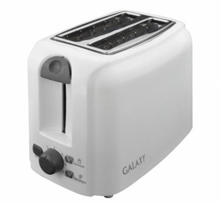 Тостер GALAXY GL 2905 белый тостер galaxy gl 2904 белый