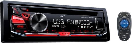 Автомагнитола JVC KD-R482 USB MP3 CD  FM 1DIN 4x50Вт черный