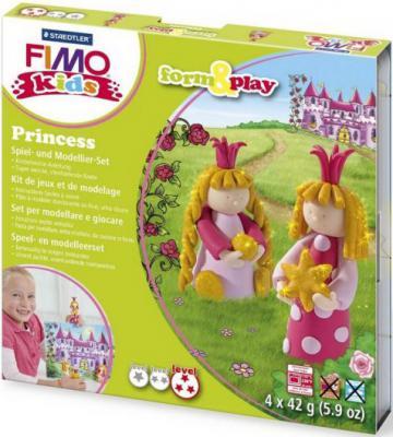 Набор для лепки из полимерной глины FIMO kids form&play Принцесса 803406
