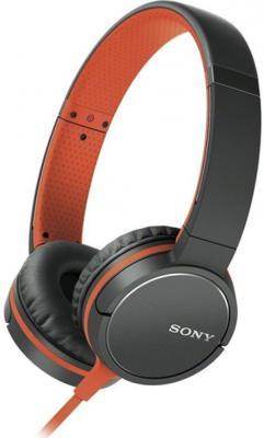 Наушники SONY MDR-ZX660AP оранжевый черный наушники sony mdr1abi e