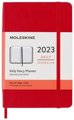 Картинка для Ежедневник датированный Moleskine Classic Daily Pocket Soft 90x140 мм