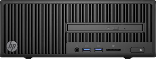 Системный блок HP 280 G2 SFF i3-6100 4Gb 500Gb DVD-RW DOS клавиатура мышь черный Y5Q31EA#ACB цена