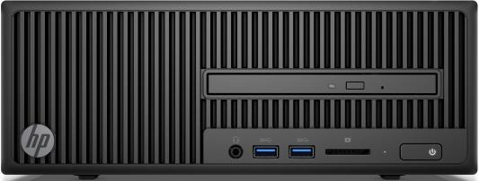 Системный блок HP 280 G2 SFF i3-6100 4Gb 500Gb SSD DVD-RW Win10Pro клавиатура мышь черный Y5P86EA системный блок dell optiplex 5050 sff i5 7500 3 4ghz 8gb 256gb ssd hd630 dvd rw win10pro черный 5050 8305