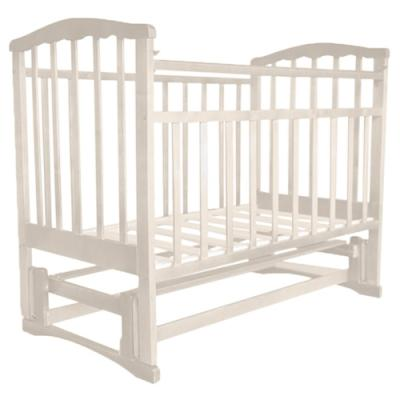 Кроватка с маятником Золушка-5 (слоновая кость) кроватка агат золушка 1 слоновая кость 52105