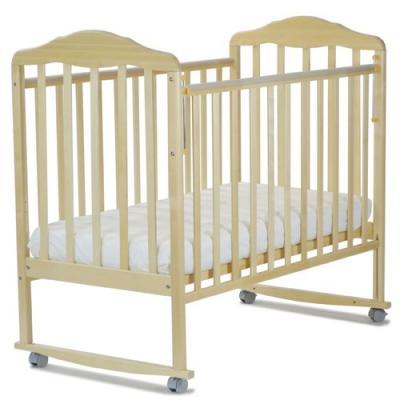 Кроватка-качалка СКВ Березка (береза/120115)