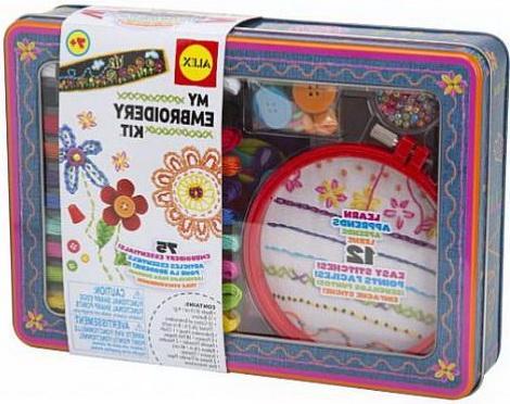 Набор для вышивания Alex Рукоделие 186Т от 7 лет пяльцы и рамки для вышивания
