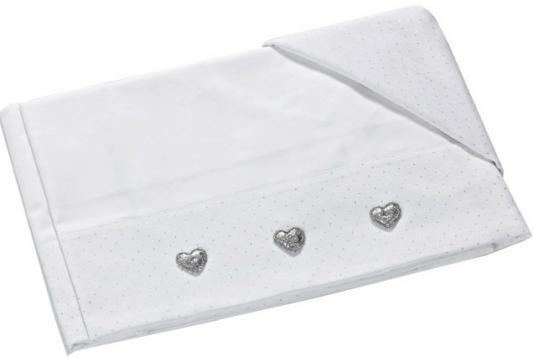 Купить Постельное белье 3 предмета Baby Expert Serenata (белый/1COSERLENZ 01), 110 х 130 см, Сменное постельное белье