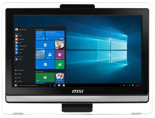 "Моноблок 19.5"" MSI Pro 20E 4BW-060RU 1600 x 900 Intel Celeron-N3160 4Gb 1Tb Intel HD Graphics 400 использует системную Windows 10 черный 9S6-AA8B12-060"