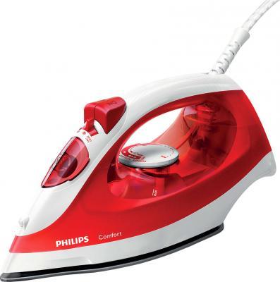 цены Утюг Philips GC1433/40 2000Вт красный белый GC1433/40