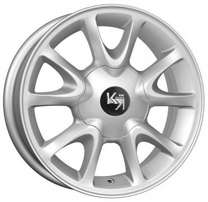 Диск K&K Lada Kalina (КС579) 5.5xR14 4x98 мм ET35 Сильвер [30173]