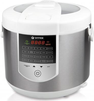 Мультиварка Vitek VT-4273 W белый 900 Вт 5 л мультиварка vitek vt 4272 bk 900 вт 5 л черный серебристый