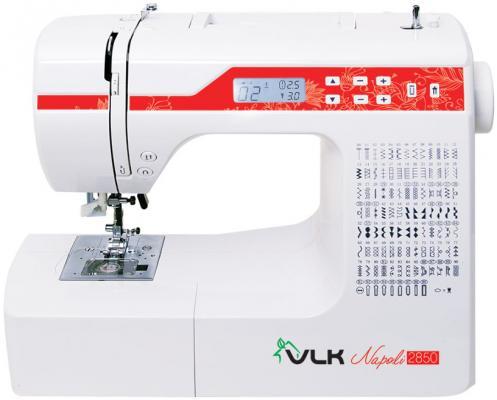 Швейная машина VLK Napoli 2850 белый электромеханическая швейная машина vlk napoli 2100