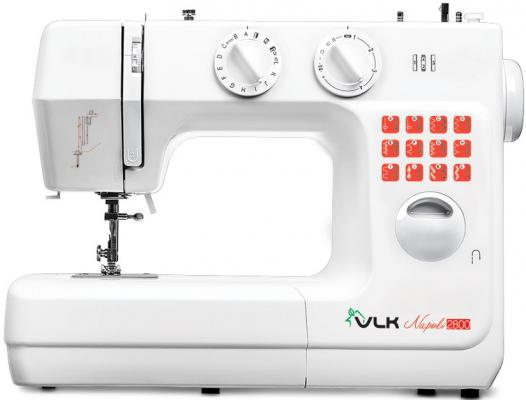 Швейная машина VLK Napoli 2800 белый швейная машина vlk napoli 2200 белый