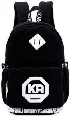 """Рюкзак 15.6"""" KAUKKO FP65 брезент черный"""