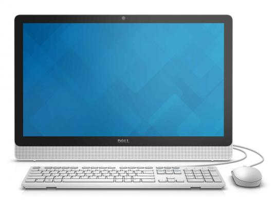 "Моноблок 23.8"" DELL Inspiron 3464 1920 x 1080 Intel Core i3-7100U 4Gb 1Tb Intel HD Graphics 620 Windows 10 Home белый 3464-0421"