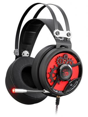 купить  Гарнитура A4Tech Bloody M660 черный/красный  онлайн