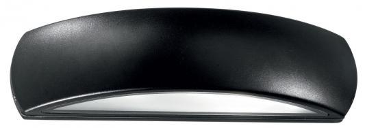 Уличный настенный светильник Ideal Lux Giove AP1 Nero  ideal lux уличный настенный светильник ideal lux giove ap1 nero
