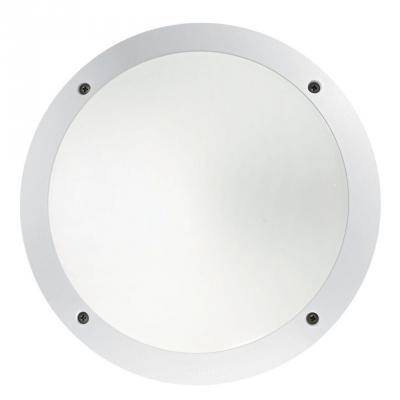 Уличный настенный светильник Ideal Lux Lucia-1 AP1 Bianco ideal lux настенный спот ideal lux zenith ap1 bianco