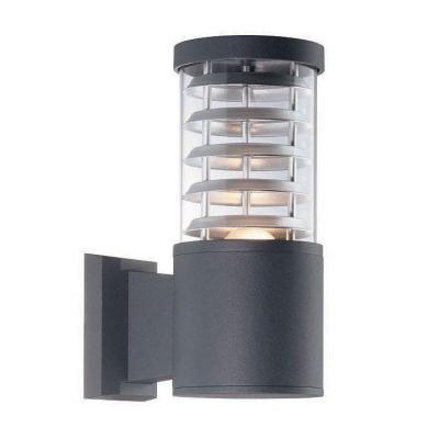 Уличный настенный светильник Ideal Lux Tronco AP1 Nero ideal lux уличный настенный светильник ideal lux twin ap1 nero