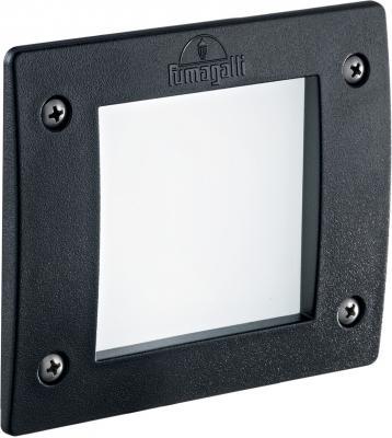Уличный светодиодный светильник Ideal Lux Leti Square FI1 Nero